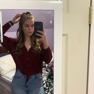 Fashion Nova button down top